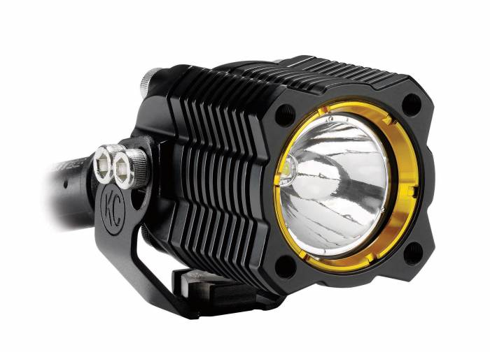 KC HiLiTES - KC HiLiTES KC FLEX Single LED Light (ea) - Spread Beam - KC #1269 1269