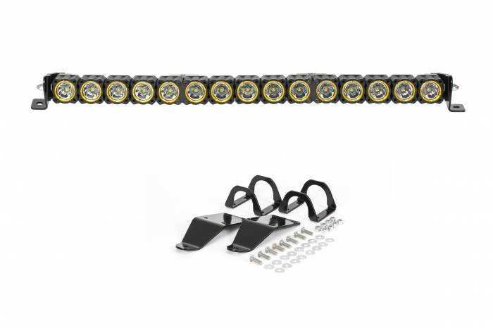 "KC HiLiTES - KC HiLiTES 30"" KC FLEX LED Light Bar Mounting Kit for Polaris RZR - #91322 91322"