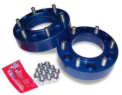 "Spidertrax Off-Road - Spidertrax Toyota 6 on 5-1/2"" x 1-1/4"" Thick Wheel Spacer Kit"