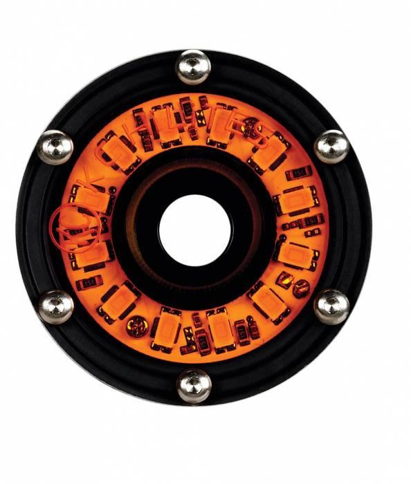 KC HiLiTES - KC HiLiTES Cyclone LED Rock Light Kit, 07-16 Jeep JK 4 PC Amber  #91021 91021