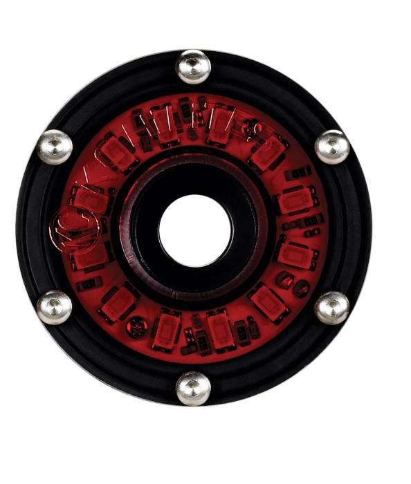KC HiLiTES - KC HiLiTES Cyclone LED Rock Light Kit, 07-16 Jeep JK 4 PC Red #91022 91022