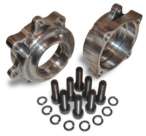 Spidertrax Off-Road - Spidertrax  4 in. Housing Ends 4130 Chromoly UEC003