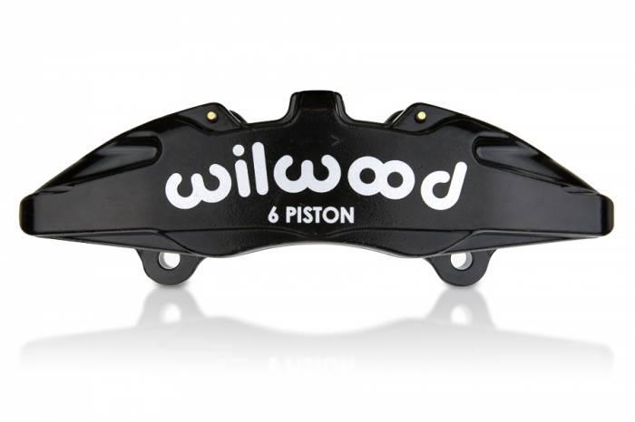 Wilwood  - Wilwood 6 Piston Bridged Caliper (LH) (.37 Width Rotor), Nickel WIL-120-13431-N