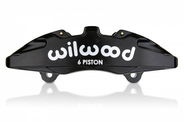 Wilwood  - Wilwood 6 Piston Bridged Caliper (RH) (.81 Width Rotor) Nickel WIL-120-13428-N