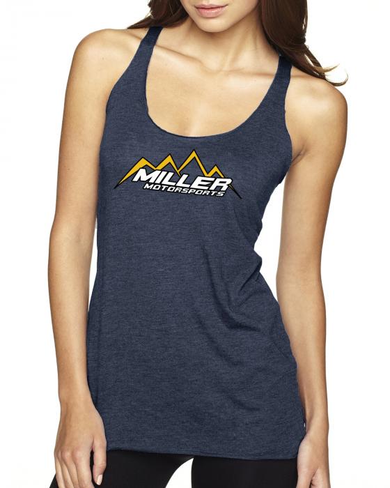 Miller Motorsports - Miller Motorsports Womens Tri Blend Tank Top