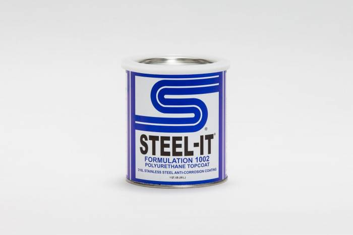 Steel-It - Steel-It Polyurethane Quart Container 1012Q Black