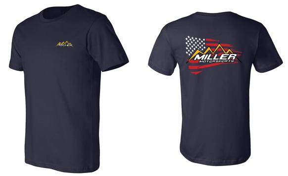 Miller Motorsports - Miller Motorsports Team America Shirt