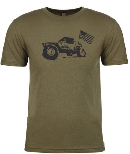 Miller Motorsports - Miller Motorsports Freedom Shirt, Olive Drab S-2XL