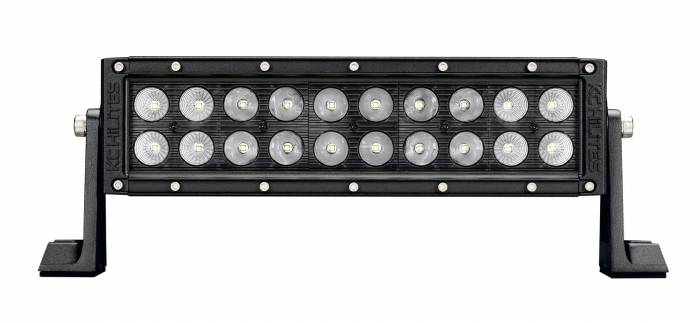 "KC HiLiTES - KC HiLiTES 10"" C Series C10 LED Light Bar Combo Beam - KC #334 (Spot/Spread Beam) 334"