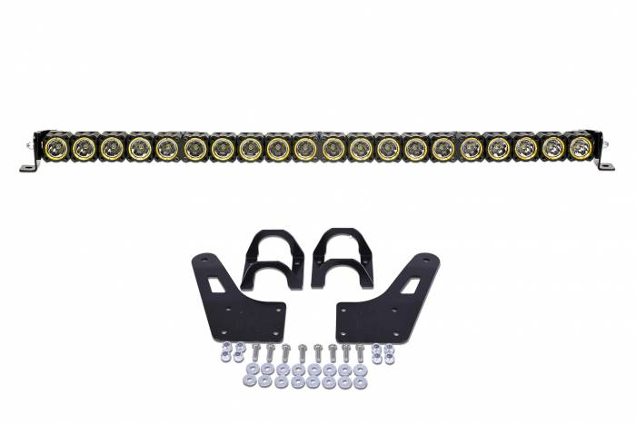"KC HiLiTES - KC HiLiTES 40"" KC FLEX LED Light Bar Mounting Kit for Yamaha YXZ1000R - #91324 91324"