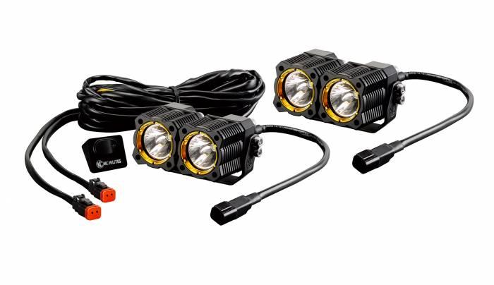 KC HiLiTES - KC HiLiTES KC FLEX LED DUAL PAIR PACK SYSTEM - #268 268