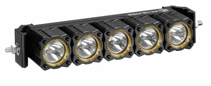 "KC HiLiTES - KC HiLiTES 10"" KC FLEX Array LED Light Bar System - Combo Beam - KC #275 275"