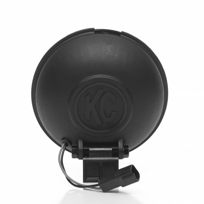 "KC HiLiTES - KC HiLiTES 6"" Apollo Pro Halogen - Black - KC #1151 (Spread Beam) 1151"