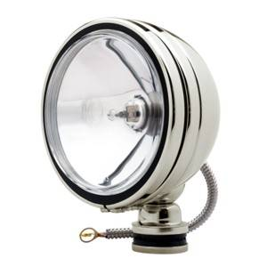"Accessories - Lighting - KC HiLiTES - KC HiLiTES 6"" Daylighter Halogen - Stainless Steel - KC #1239 (Spot Beam) 1239"