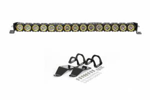 "Accessories - Lighting - KC HiLiTES - KC HiLiTES 30"" KC FLEX LED Light Bar Mounting Kit for Polaris RZR - #91322 91322"
