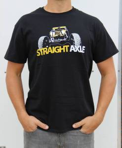Apparel - Miller Motorsports - Straight Axle /No Fox Given Shirt Heather Gray