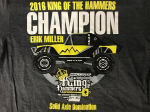 Miller Motorsports - Erik Miller 2016 KOH Champion Shirt