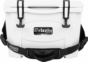 Accessories - Coolers - Grizzly Coolers - Grizzly 15 Cooler-G15 White