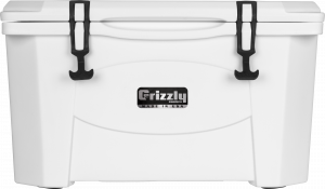 Accessories - Coolers - Grizzly Coolers - Grizzly 40 Cooler-G40 Whtie