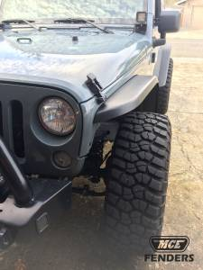 Jeep  - Exterior/Interior - MCE Fenders - MCE Fenders Narrow Width, OE Finish, Complete Set FFJKG2-N