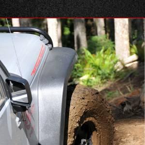 Jeep  - MCE Fenders - MCE Fenders OE Width, OE Finish, Complete Set FFJKG2