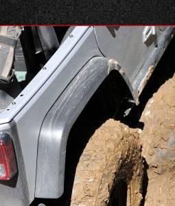 Jeep  - Exterior/Interior - MCE Fenders - MCE Fenders Rear Fenders: OE Width, OE Finish FFJKG2-R
