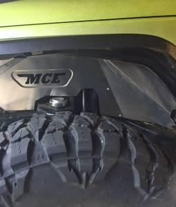 Exterior - Fender Flares - MCE Fenders - MCE Fenders JK Inner Fenders – Front