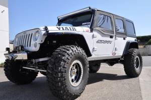 Exterior - Body Armor - Savvy Off-Road - Savvy Aluminum JK Half Doors, Front, OEM Hinges SAV-JKFHD