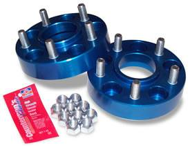 "Wheels & Spacers - Wheel Spacers - Spidertrax Off-Road - Spidertrax Jeep 5 on 4-1/2"" x 1-1/4"" Thick Wheel Spacer Kit"