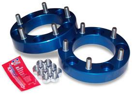"Wheels & Spacers - Wheel Spacers - Spidertrax Off-Road - Spidertrax Jeep 5 on 5-1/2"" x 1-1/4"" Thick Wheel Spacer Kit"
