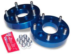 "Wheels & Spacers - Wheel Spacers - Spidertrax Off-Road - Spidertrax Jeep 5 on 4-1/2"" to 5 on 5-1/2"" Wheel Adapter Kit"