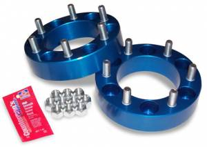 "Wheels & Spacers - Wheel Spacers - Spidertrax Off-Road - Spidertrax Toyota 6 on 5-1/2"" x 1-1/2"" Thick Wheel Spacer Kit"