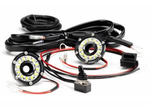 KC HiLiTES - KC HiLiTES Cyclone LED 2-Light Universal Under Hood Lighting Kit - KC #355 355