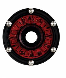KC HiLiTES - KC HiLiTES Cyclone LED Rock Light Kit, 07-16 Jeep JK 4 PC Red #91022 91022