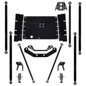 Long Arm Lift Kits - Long Arm Upgrade Kits - Rock Krawler Suspension - TJ Off Road Pro 8 Inch Stretch Upgrade 97-02 Wrangler TJ Rock Krawler