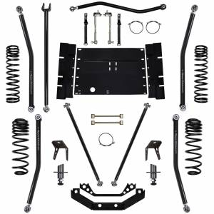 Rock Krawler Suspension - 3.5 Inch Long Arm Lift Kit W/5 Stretch X Factor 97-02 Wrangler TJ Rock Krawler
