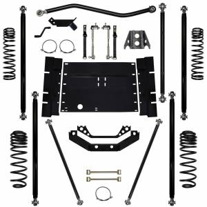 "Long Arm Lift Kits - 3.5"" Systems - Rock Krawler Suspension - 5.5 Inch Long Arm Lift Kit Off Road Pro 03-06 Wrangler TJ Rock Krawler"