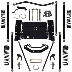 "Long Arm Lift Kits - 5.5"" Systems - Rock Krawler Suspension - 5.5 Inch Long Arm Lift Kit 97-02 Wrangler TJ Off Road Pro 5 Stretch Rock Krawler"
