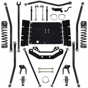 "Long Arm Lift Kits - 5.5"" Systems - Rock Krawler Suspension - 5.5 Inch Long Arm Lift Kit 03-06 Wrangler TJ X Factor 8 Stretch Rock Krawler"