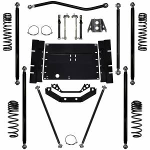"Short Arm Lift Kits - 2.0"" Systems - Rock Krawler Suspension - 2 Inch Lift Kit 97-02 Wrangler TJ Off Road Pro Rock Krawler"