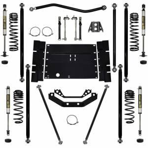 "Long Arm Lift Kits - 2.0"" Systems - Rock Krawler Suspension - 2 Inch Lift Kit 03-06 Wrangler TJ W/Shocks Off Road Pro Stg 1 Rock Krawler"