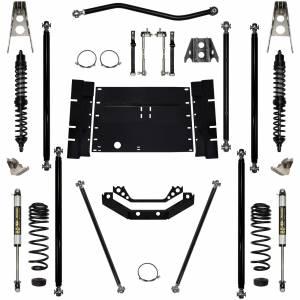 "Long Arm Lift Kits - 2.0"" Systems - Rock Krawler Suspension - 2 Inch Long Arm Lift Kit W/Coil Over Shocks Stg 1 Off Road Pro 97-02 Wrangler TJ Rock Krawler"