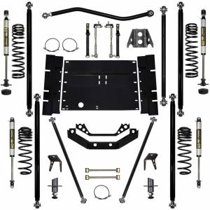 "Long Arm Lift Kits - 3.5"" Systems - Rock Krawler Suspension - 3.5 Inch Long Arm Lift Kit W/Shocks W/5 Stretch Off Road Pro Stg 1 97-02 Wrangler TJ Rock Krawler"