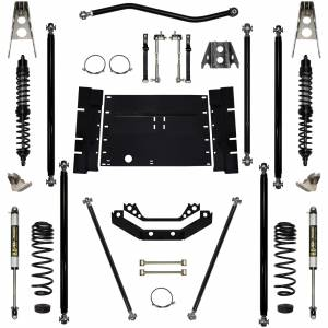 Rock Krawler Suspension - 3.5 Inch Corp Long Arm Lift Kit W/Coil Over Shocks Stg 1 97-02 Wrangler TJ Rock Krawler