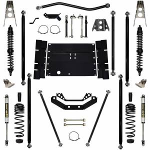 "Long Arm Lift Kits - 5.5"" Systems - Rock Krawler Suspension - 5.5 Inch Long Arm Lift Kit Coil Over Shocks Off Road Pro Stg 1 97-02 Wrangler TJ Rock Krawler"
