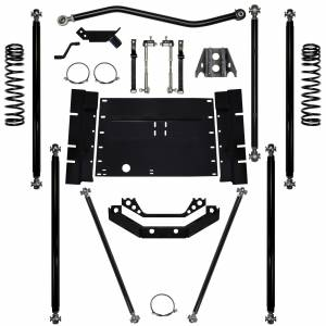 "Long Arm Lift Kits - 5.5"" Systems - Rock Krawler Suspension - 5.5 Inch Long Arm Lift Kit 12 Stretch Off Road Pro 97-02 Wrangler TJ Rock Krawler"