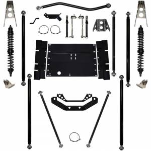 "Long Arm Lift Kits - 5.5"" Systems - Rock Krawler Suspension - 5.5 Inch Long Arm Lift Kit W/Coil Over Shocks 12 Stretch Stg 1 Off Road Pro Corp 97-02 Wrangler TJ Rock Krawler"