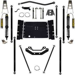 "Long Arm Lift Kits - 5.5"" Systems - Rock Krawler Suspension - 5.5 Inch Long Arm Lift Kit W/Remote Reservoir Coil Over Shocks 12 Stretch Stg 2 Off Road Pro Corp 97-02 Wrangler TJ Rock Krawler"