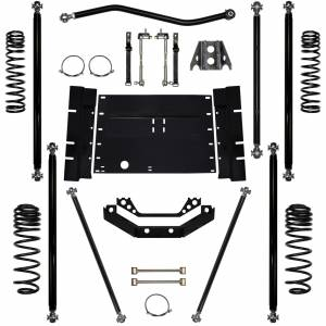 "Long Arm Lift Kits - 3.5"" Systems - Rock Krawler Suspension - 3.5 Lift Kit Off-Road Pro Long Arm System 97-02 Wrangler TJ Rock Krawler"