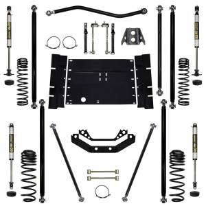 "Long Arm Lift Kits - 3.5"" Systems - Rock Krawler Suspension - 3.5 Lift Kit Off-Road Pro Long Arm System W/Shocks Stg 1 03-06 Wrangler TJ Rock Krawler"
